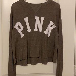 Women gray vintage sweater